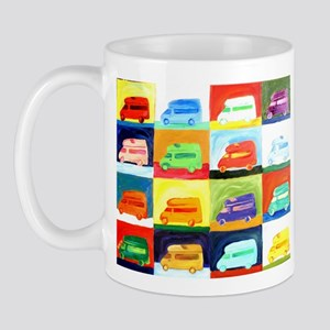 westy squares Mugs