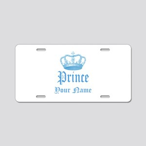 Custom Prince Aluminum License Plate