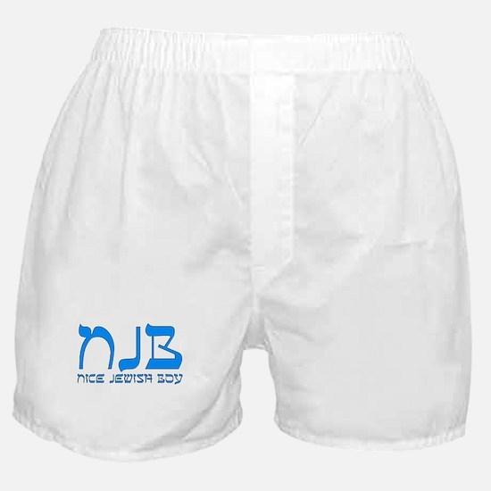 NJB - Nice Jewish Boy Boxer Shorts