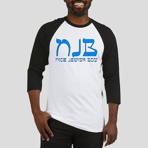NJB - Nice Jewish Boy Baseball Jersey