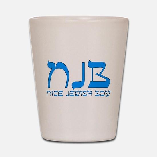 NJB - Nice Jewish Boy Shot Glass
