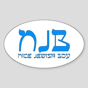 NJB - Nice Jewish Boy Sticker
