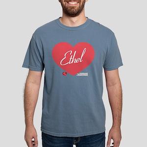 Hearts Ethel Mens Comfort Colors Shirt