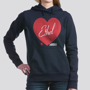 Hearts Ethel Women's Hooded Sweatshirt