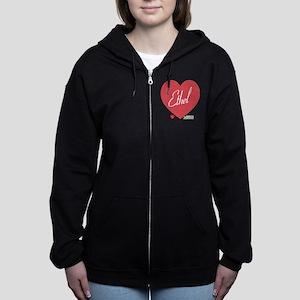 Hearts Ethel Women's Zip Hoodie
