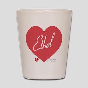 Hearts Ethel Shot Glass
