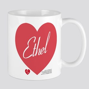 Hearts Ethel 11 oz Ceramic Mug