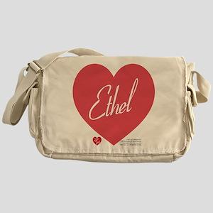 Hearts Ethel Messenger Bag