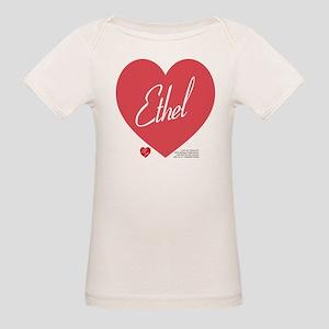 Hearts Ethel Organic Baby T-Shirt