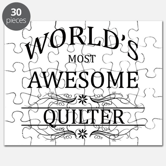 World's Most Awesome Quilter Puzzle