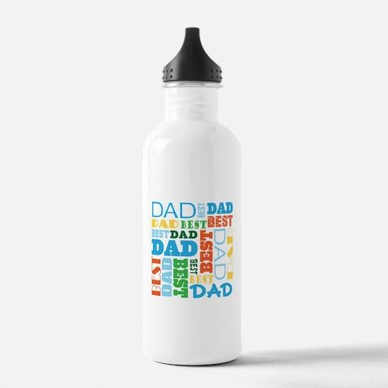 Best Dad Gift Water Bottle