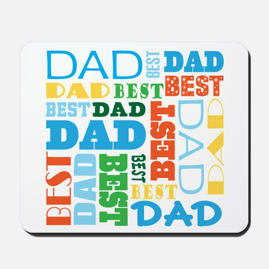 Best Dad Gift Mousepad