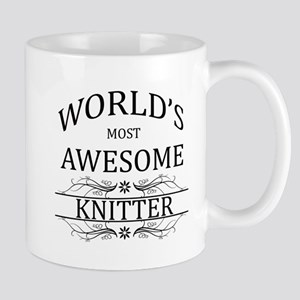 World's Most Awesome Knitter Mug