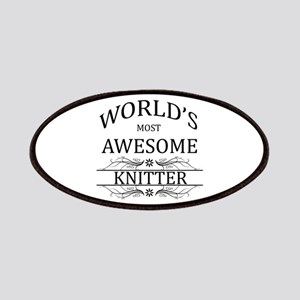World's Most Awesome Knitter Patches
