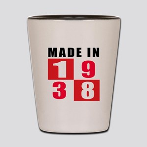 Made In 1938 Shot Glass