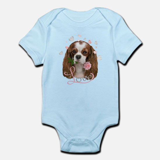 Cavalier King Charles love Body Suit