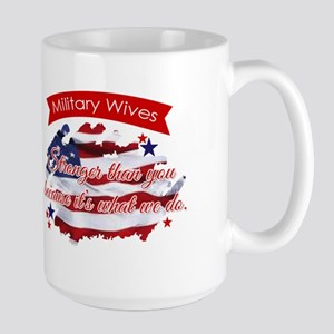 military wives Mug