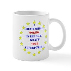 Superhero Writer Mug