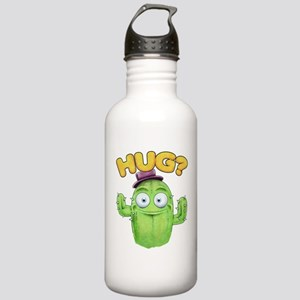 cactus hug Water Bottle