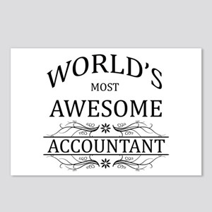 World's Most Awesome Accountant Postcards (Package