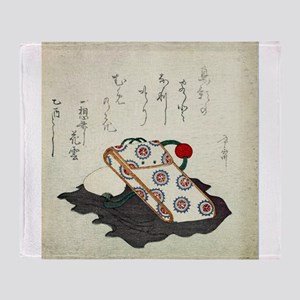 Tobacco Pouch - anon - 1825 - woodcut Throw Blanke