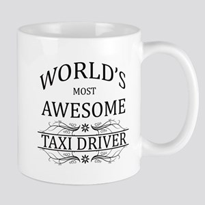 World's Most Awesome Taxi Driver Mug