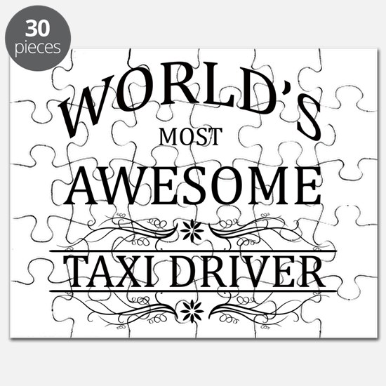 World's Most Awesome Taxi Driver Puzzle