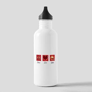 Peace Love Bake Water Bottle