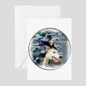 Greyhound Christmas Greeting Cards (Pk of 20)