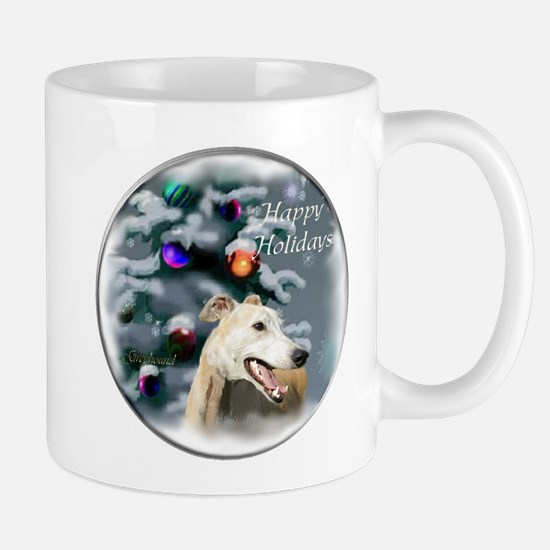 Greyhound Christmas Mug