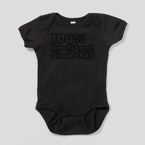 100% Intelligent Black Child Body Suit