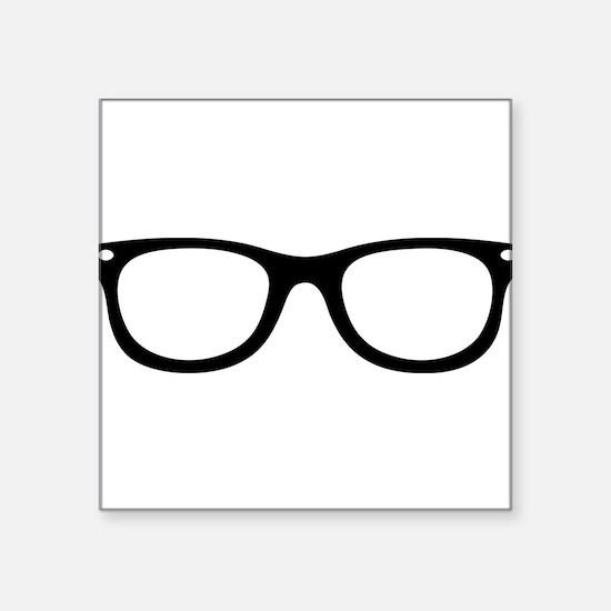 Brille Sticker