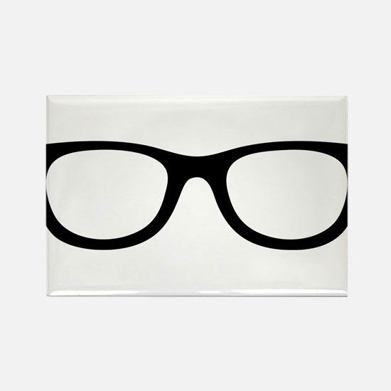 Brille Rectangle Magnet