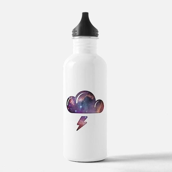 Space Cloud Water Bottle