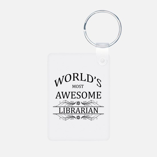 World's Most Awesome Librarian Keychains