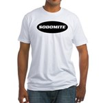 Sodomite Fitted T-shirt (Made in the USA