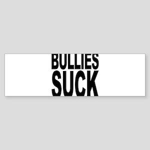 bulliessuckblk Bumper Sticker