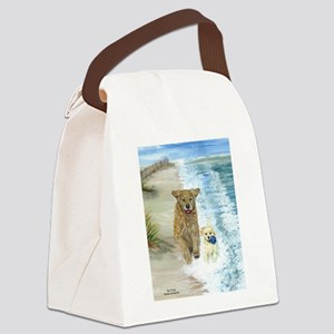 Golden Surf runners Canvas Lunch Bag