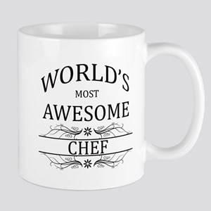 World's Most Awesome Chef Mug