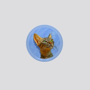 Cool Cat Mini Button