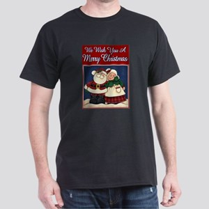 Christmas Couple Dark T-Shirt