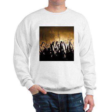 Corn field silhouettes Sweatshirt