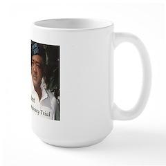 SEIZE THE TIME: The Eighth Defendant - Large Mug