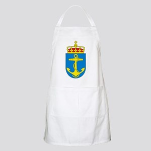 Coat of arms of the royal norwegian na Light Apron