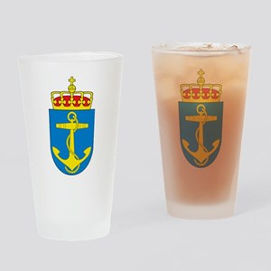 Coat of arms of the royal norwegian Drinking Glass