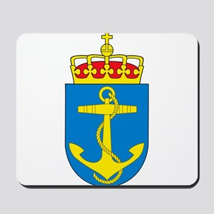 Coat of arms of the royal norwegian navy Mousepad