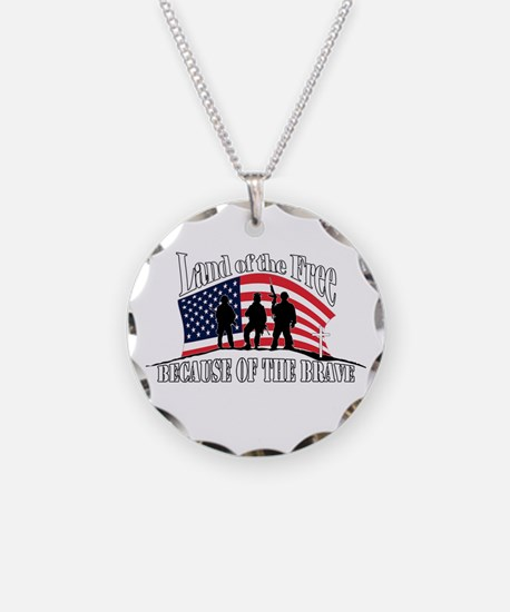 Land Of The Free Necklace