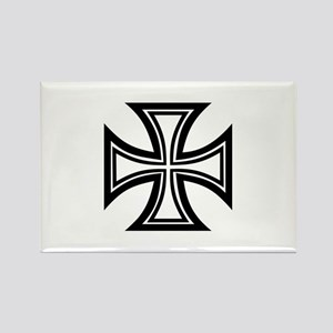 Iron cross Rectangle Magnet
