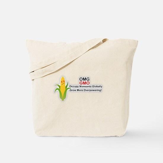 OMG GMO Occupy Monsanto Globally Grow Tote Bag