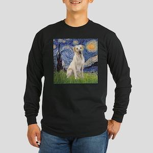 StarryNight (T) - YellowLab7 Long Sleeve T-Shirt